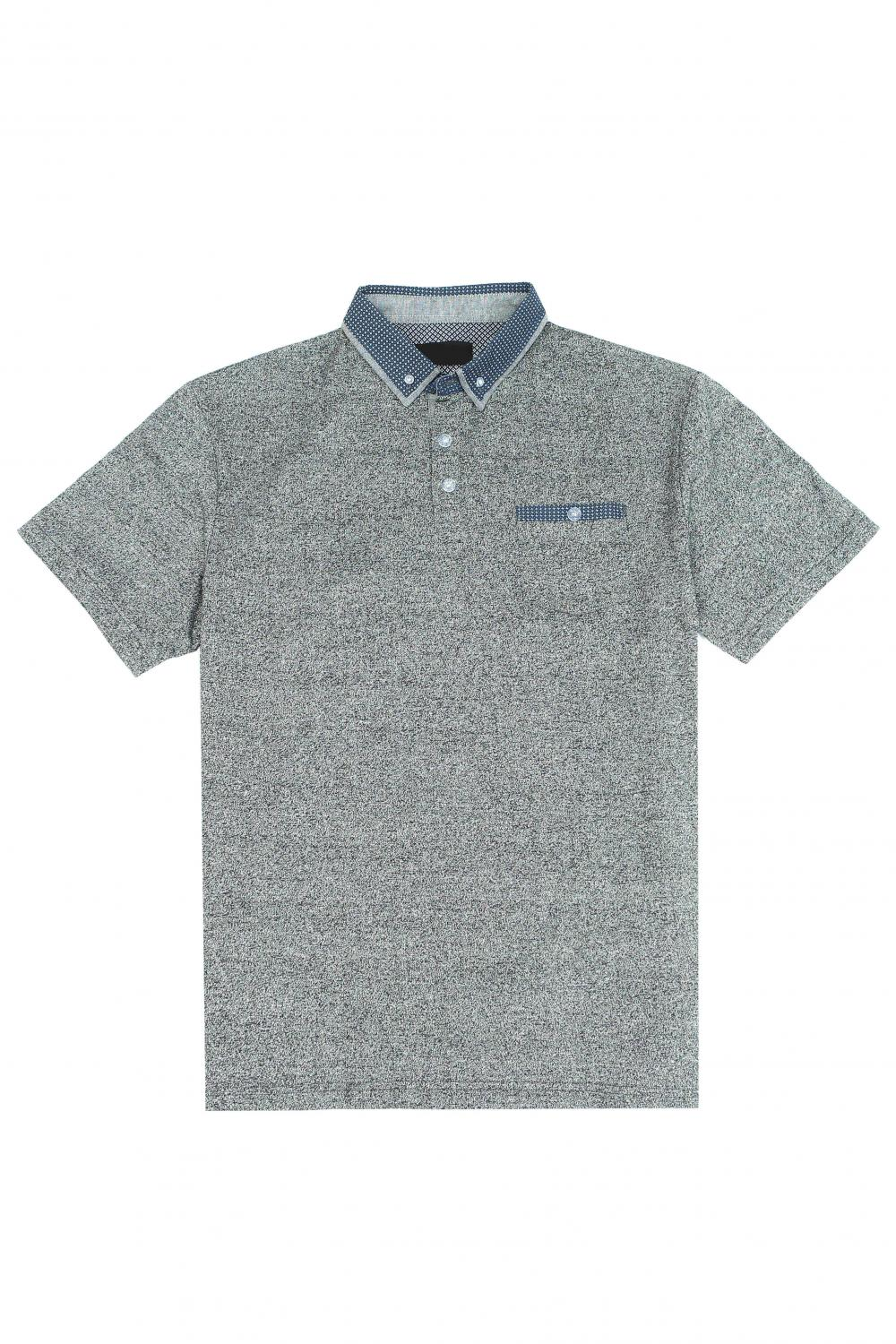 Men's AB yarn POLO