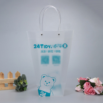 Pp Transparent Plastic Bag For Shopping