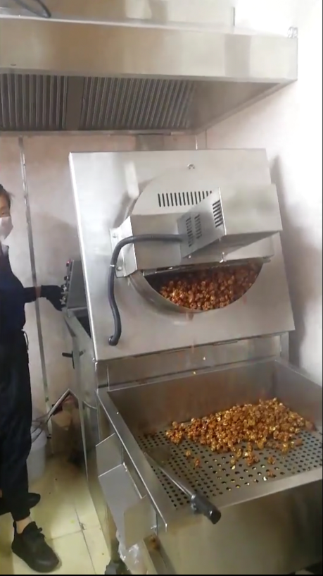 Ball Popcorn Making Machine