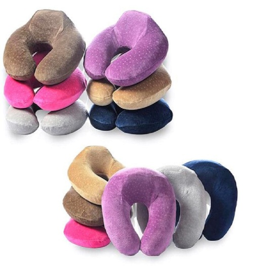 Headrest u shape memory foam neck pillow