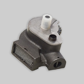 Hydraulic gear pump cast iron