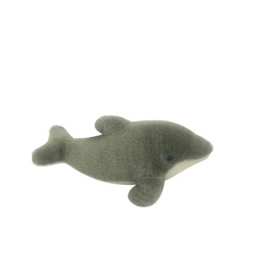Plush Dolphin In Gray