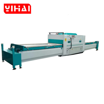 making vacuum membrane wood veneer pvc foil machine