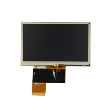 AT043TN24 V.7 Innolux 4.3inch display with touchscreen
