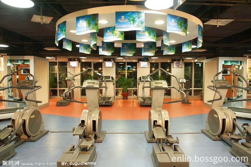 Gym PVC flooring Indoor Enlio