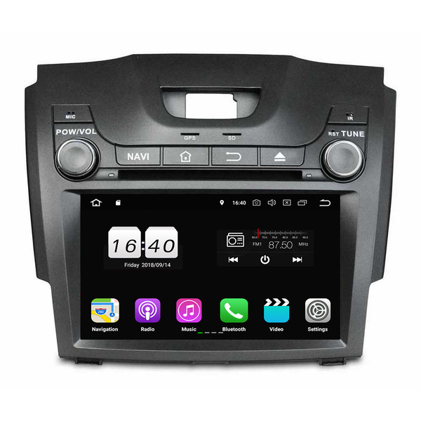 Android car dvd for S10 2013-2014