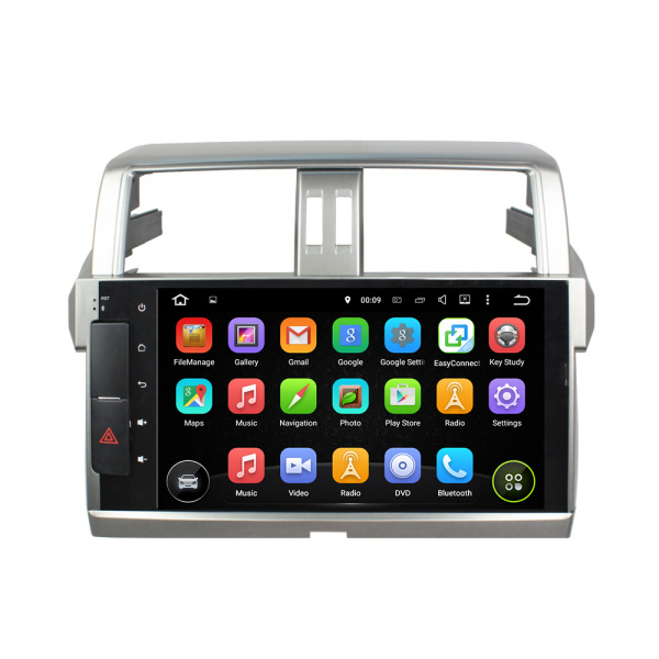 deckless Android 6.0 car DVD for PRADO 2015