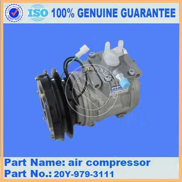 D85A-21 air compressor 20Y-979-3111 for air conditioner parts