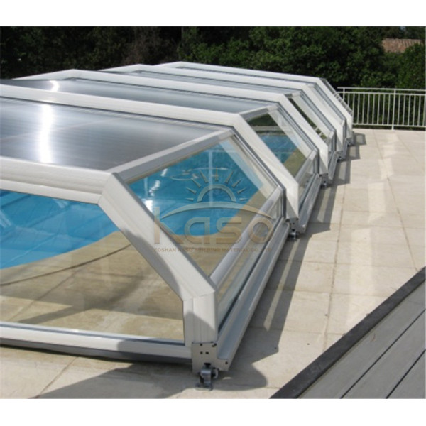 Custom Screen Enclosure Sunroom Price Curved Pool Cover