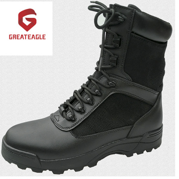 High Ankle Full Grain Steel Leather Safety Shoes