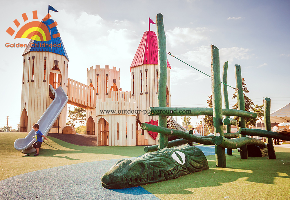 Playground Castle Dragon For Kids