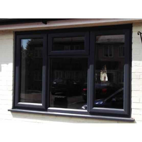 Black Laminated Color Upvc Profiles