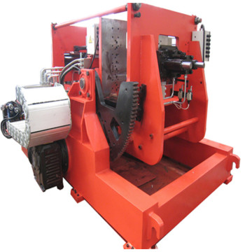 Tilting electric gravity casting machine