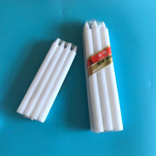 Cheap Dripless Large Long Burning Paraffin White Candles