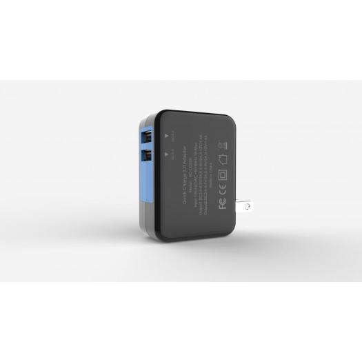 QC3.0 Dual USB Wall Charger Adapter