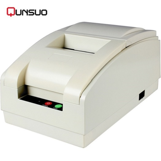 Portable pos dot matrix bus ticket Bluetooth printer