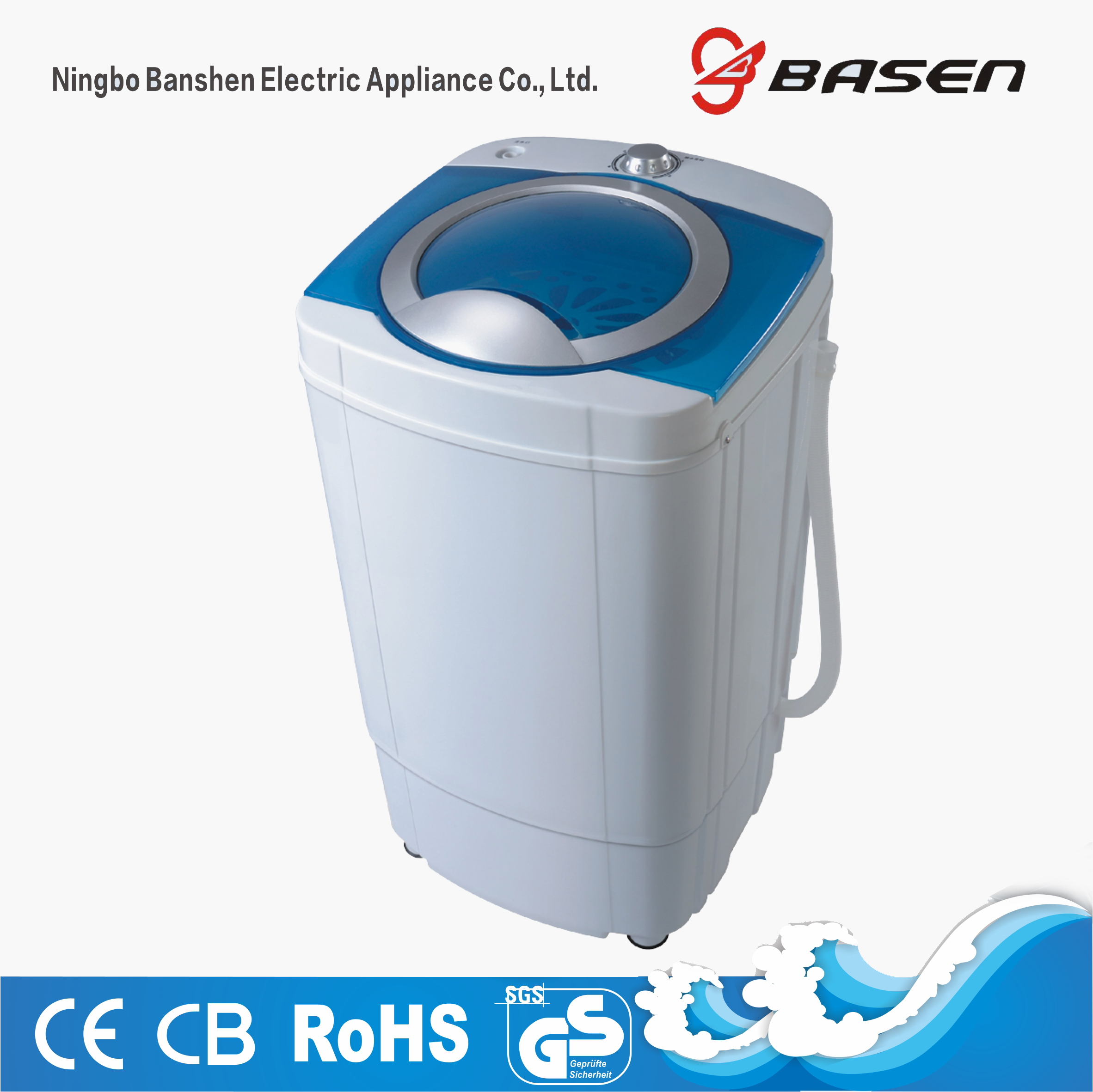 6.5kg spin dryer blue