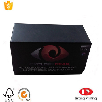 rigid cardboard box for sunglass packaging