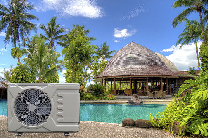 Pool Heat Pump with Chiller