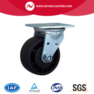 4 Inch 300Kg Plate Swivel PA Machine Caster