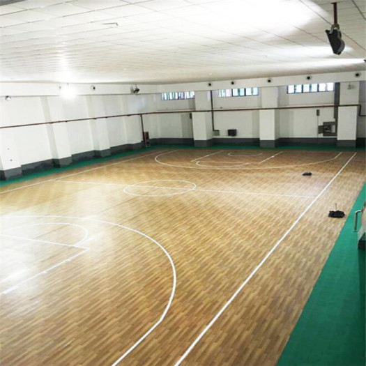 Wood Apperance PVC Flooring for Basketball