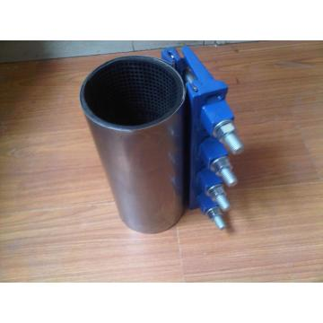 Stainless steel /Ductile iron double band repair clamp