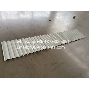 aluminum corrugated sheet roll forming machine
