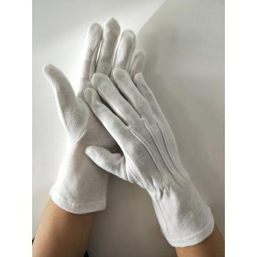 work band formal ceremony cotton gloves