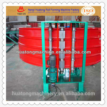 Popular roofing sheet metal curving equipment