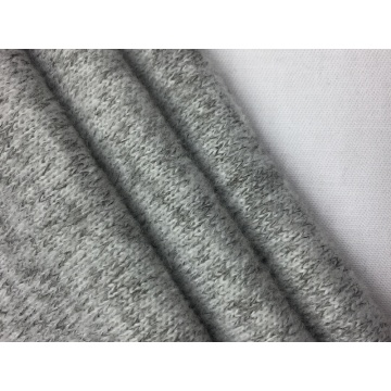 Polyester Loop Gage Knit Brushed Solid Fabric