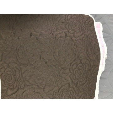 Rose Flower Ultrasonic Microfiber Fabrics