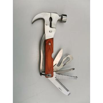 Stainless Steel Camping Multi Function Hammer With Pliers