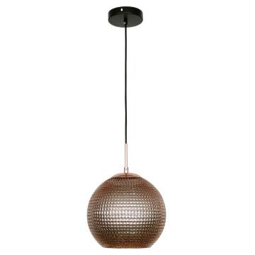 Modern Glass Round Shade Decorative Pendant Lighting