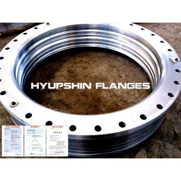 Loose Flange Dimensions EN 1092-1 type 02
