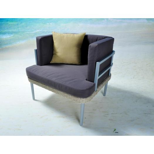 wood plastic composite outdoor furniture sofa