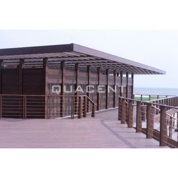Engineered Wood Glulam Beam Beach House