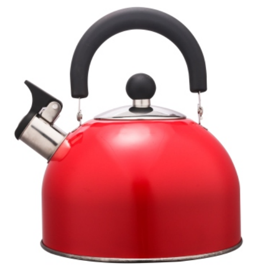 KHK001 2.0L Stainless Steel color painting Teakettle red color