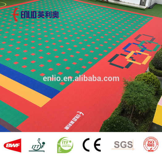 Outdoor Playschool Interlocking Tiles