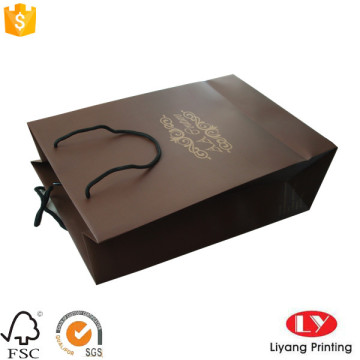 Luxury customized gift paper bag  with logo