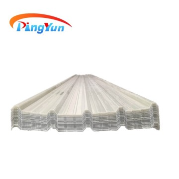 weather resistant fireproof PVC translucent roof tile