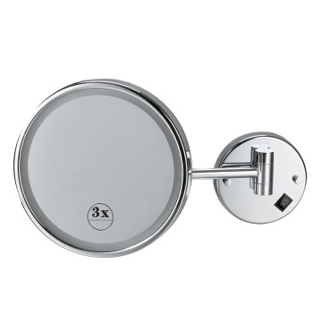 Smart Round Wall Magnifying Illuminated Bathroom Mirror
