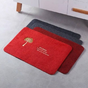 Non-woven exhibition carpet beautiful kitchen mat