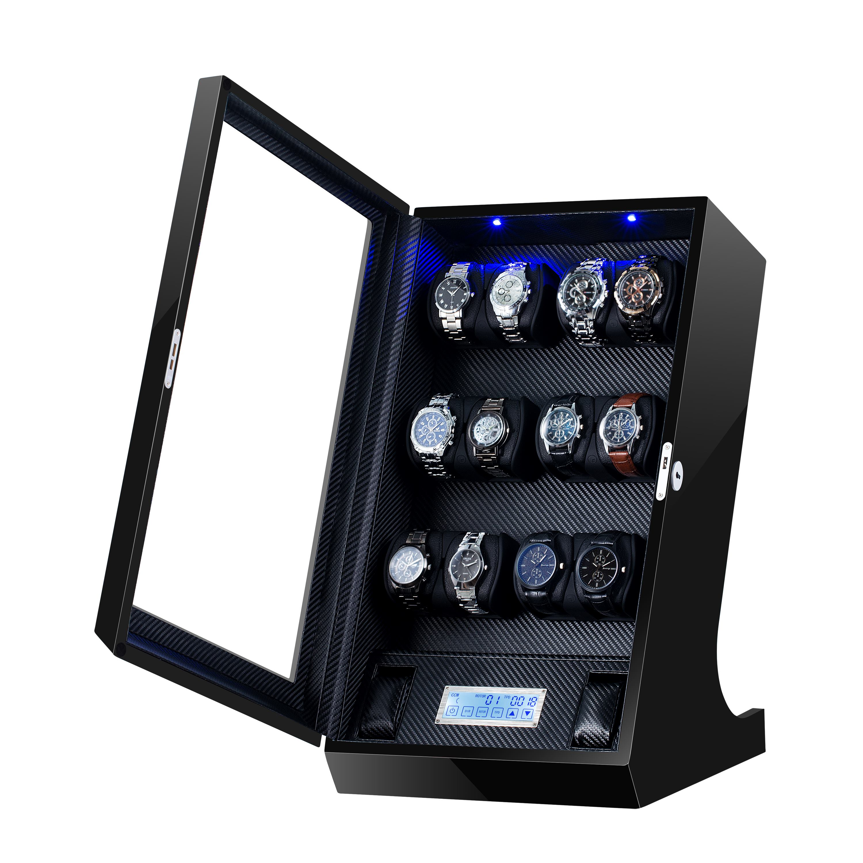 multi-rotor watch winder