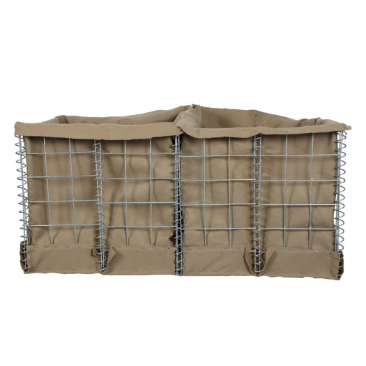 Mil 9 Military sand wall hesco barrier size