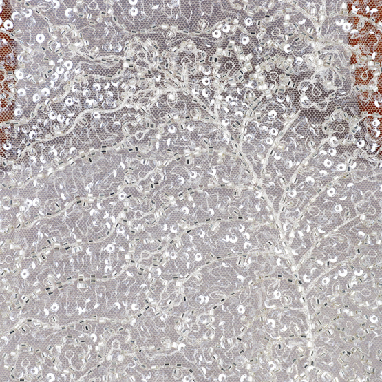 wedding dress embroidered lace fabric