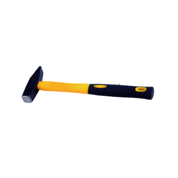 Machinist hammer with fiberglass handle 800g
