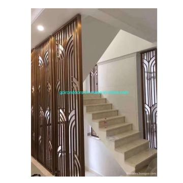 Interior Decoration of Houses Metal Folding Screen