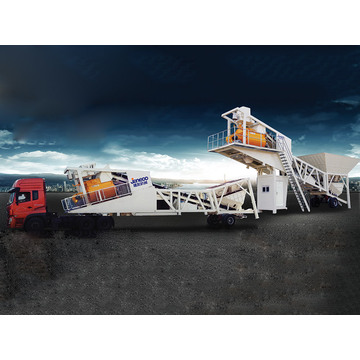 Belt Type Mobile Concrete Batching Plant