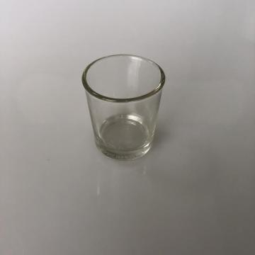 Column glass candle cup