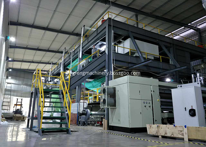 sss pp nonwoven fabric making machine